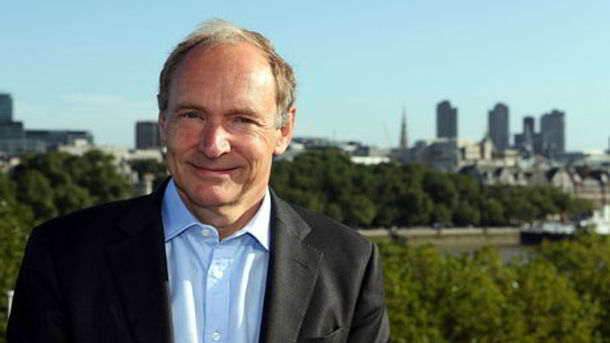 Tim Berners-Lee father of internet